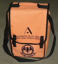 """Barcardi Rum Padded Back Pack w/ Inserts - Holds Four 750 mL Bottles ~7x9x13"""""""