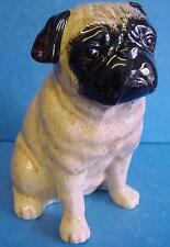 QUAIL CERAMIC FAWN PUG DOG MONEYBOX MONEY BOX OR PIGGY SAVINGS BANK