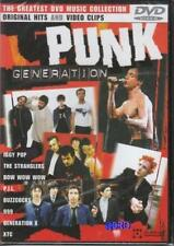 PUNK Generation + DVD + 18 Videos + Seltene Aufnahmen + Stranglers + Dr.Feelgood