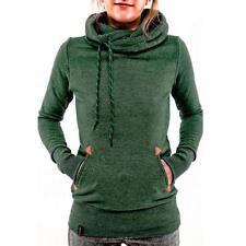 Womens Casual Hoody Hoodie Sweater Tops Ladies Hooded Sweatshirt Pullover Jumper