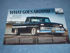 """1964 Chevy C10 Pickup Article """"What Goes Around..."""" Short Bed Fleetside"""