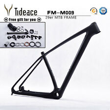 "CHEAP 19"" Carbon MTB Frame 29ER Mountain Bike Bicycle Frame UD Matt Disc Brakes"