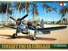 Tamiya America [TAM] 1:48 Vought F4U1A Corsair Plastic Model Kit TAM61070