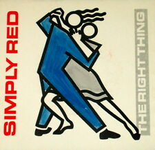 """SIMPLY RED """"THE RIGHT THING"""" ELEKTRA 7-69487 (1987) PICTURE SLEEVE ONLY"""