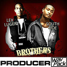 lex luger south side drum kit fl studio mpc maschine reason 8 trap 808 beat loop