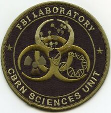 FBI WASHINGTON DC CBRN CHEMICAL CRIME LAB CSI green POLICE PATCH