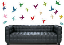 Flying Birds - Pack of 35 - Wall Art Vinyl Stickers Colourful Murals Decals
