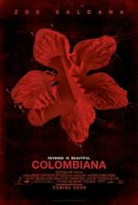 Colombiana - original DS movie poster - D/S 27x40 Zoe Saldana
