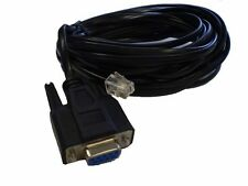 RS232 Serial Computer Cable DB9 9-Pin Female RJ-11 Connector - NEW