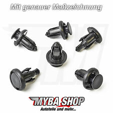 15x clips stossstangen Fixation colliers pour Mitsubishi Honda Civic Acura Jazz