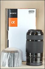 Sony Alpha SEL55210 55-210mm f/4.5-6.3 OSS E Mount Black Zoom Lens - LNIB/Mint