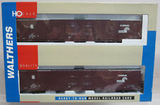 Walthers 932-23507 PS 86' Hi-Cube 4-Door Box Car Conrail 2-Pack HO Scale NOS