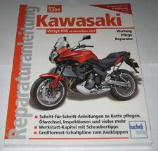 Reparaturanleitung Kawasaki Versys 650 ab Baujahr 2007