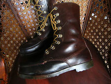 Rare!!  TREVISO Leather Hunting Boots - Quality & Unique - Made in Italy - Men9D