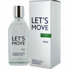United Colours of Benetton Let's Move EDT for Men 100ml | Genuine UCB Perfume