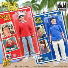 GILLIGANS ISLAND; GILLIGAN & SKIPPER; 12 INCH ACTION FIGURES, FIGURES TOY CO