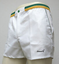 vtg JOSEP'S White Tennis Shorts M/L Spain deadstock 70s/80s retro never worn