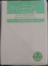 King Single Bed Waterproof Mattress Protector - Fitted Style -  by Bambury