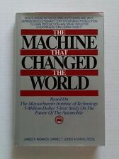 The Machine That Changed the World by James Womack, Daniel Jones 1990 HC w/ DJ