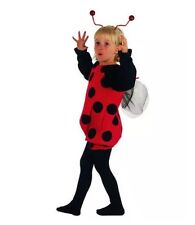 Children's Ladybird Fancy Dress Costume Lady Bug Creepy Crawly Outfit 2-3 Yrs UK