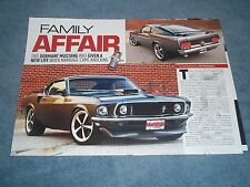 "1969 Ford Mustang SportsRoof RestoMod Article ""Family Affair"" Fastback"