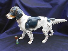 Rare Antique Bing & Grondahl English Setter Dog Lauritz Jensen 1915-1930