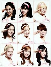 2013 SNSD Girls Generation Concert Girls&Peace in SEOUL Official Photo Card Set