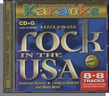Karaoke CD+G - ROCK in the U.S.A. - New 8 Song CD! American Woman, Like a Rock