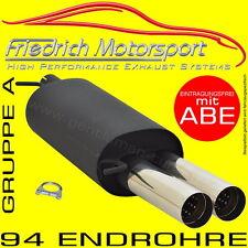 FRIEDRICH MOTORSPORT SPORTAUSPUFF Ford Focus 2 Schrägh. DA3/DB3 1.4 1.6 1.8 2.0