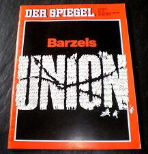 Der Spiegel 22/72 Titelbild: Barzels Union, Fiat 132 und Alfa Romeo Alfetta