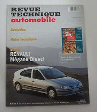 Revue technique automobile RTA 587 renault mégane diesel
