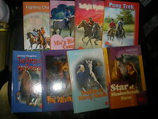 8 HC Pony chapter books NEW never read-sat on shelf-Horse In Portrait, Palomino,