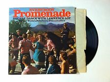 EVERYBODY PROMENADE SQUARE DANCE WITH LAWRENCE LOY LP VG+