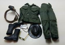 Military Uniform Weapons Accessories for 1/6 Scale Action Figure GI Joe Lot #397
