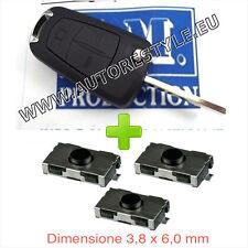 Guscio cover chiave telecomando OPEL Zafira B Astra H Corsa D Meriva 3T+3 switch