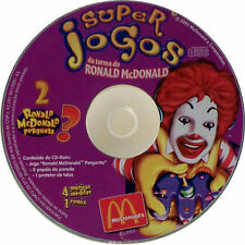 Super Jogos Da Turma do Ronald McDonald #2 (CD-ROM, 2003 McDonald's Corp)
