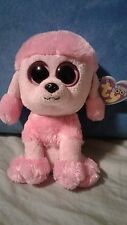 """Ty Beanie Boo - 2013 - Princess the Dog - 6"""" - with hang tag"""