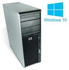 Equipo HP z400 Workstation Xeon 6x3,2ghz 12gb 128gb 250gb SSD DVDRW win10pro64
