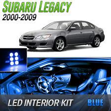 2000-2009 Subaru Legacy Blue LED Lights Interior Kit