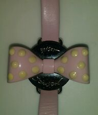 Pink Watch - Rare Vintage Betsey Johnson Watch Pink Bow Valentines Day
