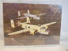 Budd Davisson WWII Military Airplane Framed 12x16 In Flight Photo B-25 Mitchel