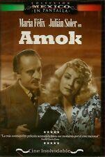 AMOK (1944) MARIA FELIX JULIAN SOLER (NEW DVD