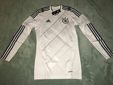 Adidas TechFit Germany Authentic Player Issue Home Soccer Jersey 2010/11 Size L