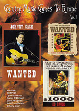 COUNTRY MUSIC COMES TO EUROPE Vol. 1 DVD - Region Free