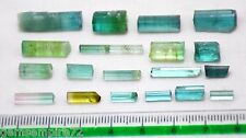Top class 48 Carats Mix color Tourmaline  Rough Crystals From Afghanistan