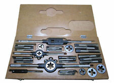 "RDGTOOLS BSW WHITWORTH TAP AND DIE SET WITH DIE STOCKS AND TAP WRENCH 1/4"" -3/4"""