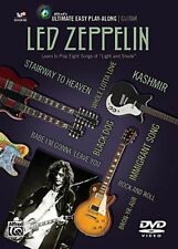 Led Zeppelin Ultimate Guitar Play Along 8 Songs! DVD NEW!