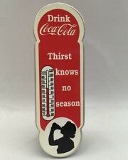 Town Square 2004 Accessory Drink Coca Cola Thirst Knows No Season Sign Coke