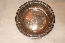 REED & BARTON ~ Silverplated Candy Bom Bom  Dish 1202 *EXCELLENT COND.