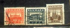 1920 Danmark  Nice Stamps (complete) Lot  CV Rm 12
